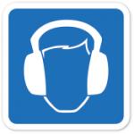 Símbolos de acessibilidade para deficientes auditivos